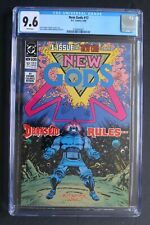 NEW GODS #17 ORIGIN First KING YUGA KHAN DARKSEID Father 1990 Scarce CGC NM+ 9.6