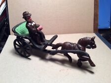 Cast Iron Horse And Buggy