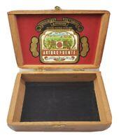 A. Fuente Short Story Wood Cigar Box 7.75 x 4.5 x 2.75 Inches