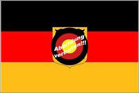 Flagge 250x150 DEUTSCHLAND ADLER DIENSTFLAGGE Fahne