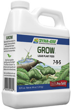 Dyna Gro Grow 7-9-5 32 oz. Quart Liquid Plant Food Fertilizer Hydroponic Bloom
