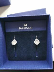 SWAROVSKI earrings Crystal Bella mini-white rhodium plated RRP £49. Brand New