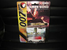 1/64 CORGI JAMES BOND 007  FORD MUSTANG   GOLDFINGER  + COLLECTORS CARD