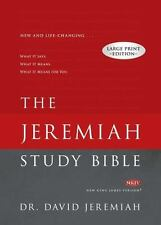 The Jeremiah Study Bible Large Print Edition : What It Says. What It Means. What