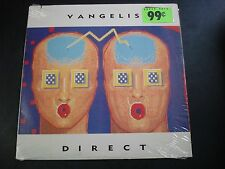 VANGELIS DIRECT LP RECORD NM WITH INNER SLEEVE