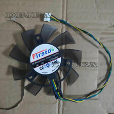 New For ASUS FD8015U12D GT740 650Ti EAH6770 7750 12V 0.50AMP Graphics Card Fan