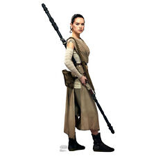 REY Star Wars VII Force Awakens Daisy Ridley CARDBOARD CUTOUT Standup Standee