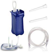 FullWash Home Enema Colonic Irrigation Kit Reusable Bag Detox 1.8L FREE P&P