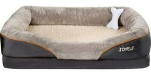 Large Memory Foam, Orthopedic Dog Bed  and Sofa with removable washable cover.