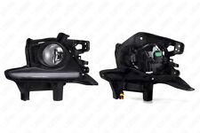 For 14-16 Toyota Highlander Clear Lens Fog Light LED DRL w/Switch w/Bulb w/Bezel