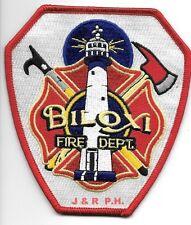 "Biloxi  Fire Dept., Mississippi  (4"" x 4.5"") fire patch"