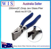 200mm Grozier Pliers for Glass Stained Mosaics-Breaking Nibbling Cutting Tool
