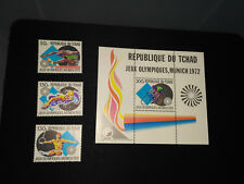 Chad 1972 Olympic Games SC#260-262,263