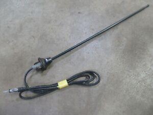 1977 Jaguar XJS exterior radio antenna base cable parts