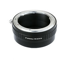 Nikon Non-Ai AIS Lens to CANON EOS M EF-M Mirrorless Camera M5 M6 M100 Adapter