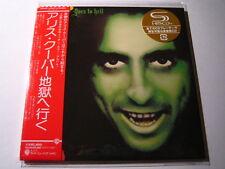 """ALICE COOPER """"Goesto Hell"""" Le Japon MINI LP SHM CD"""