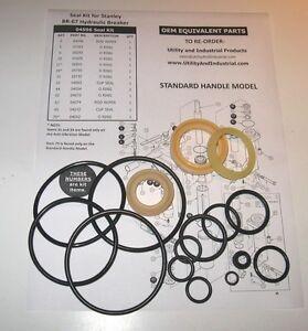 Seal Kit - Stanley BR-67 Hydraulic Breaker Seal Kit No. 04596