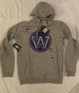 Nike Men's Golden State Warriors City Edition Logo Fleece Hoodie Medium NWT $70