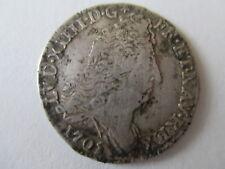 FRANCE LOUIS XIV SILVER COIN 1/8th ECU (10 SOLS) RENNES MINT 1705