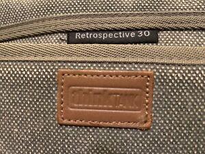 Think Tank Photo Retrospective 30 Shoulder Bag (Olive Green/Pinestone) - AWESOME
