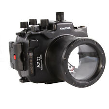 40M Waterproof Underwater Housing Case for Sony A7 A7R II ILCE-7R + 28-70mm Lens