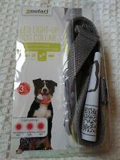 Zoofari Led Light Up Collar Large