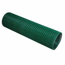PVC Welded Wire Mesh Fencing Chicken Poultry Aviary Fence Run Hutch Pet Rabbit