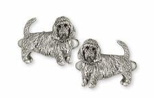 Pbgv Petit Basset Griffon Vendeen Cufflinks Jewelry Silver Handmade Dog Cufflink