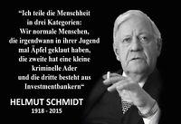 Helmut Schmidt Spruch 6 Blechschild Schild gewölbt Metal Tin Sign 20 x 30 cm