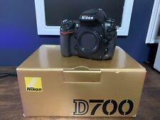 Nikon D700 12.1MP Digital SLR Camera -Black (Body Only) LOW SHUTTER COUNT 16232