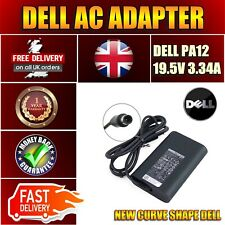 Dell PA-12 14 3000 Series (3421) 19.5V Slim AC Adapter Power Supply UK