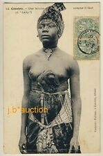 French Guinea PROUD LADY / STOLZE DAME Conakry * Vintage 1905s Ethnic Nude PC