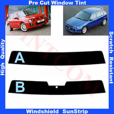 Pre Cut Window Tint Sunstrip for MG ZR 5 Doors Hatchback 2001-2005 Any Shade