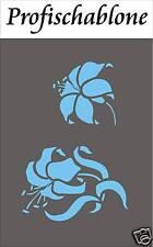 Schablone, Wandschablone, Stupfschablone, Malerschablone - Orchidee 40cm x 40cm