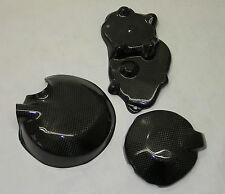 KAWASAKI ZX6R Carbono Kevlar Motor Funda Conjunto de 2007 - 2009