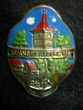 St. Andreasberg stocknagel shield hiking medallion Badge G2315