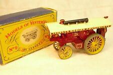 "Locomobile FOWLER ""BIG LION"" LESNEY YESTERYEAR N°9  + boite"