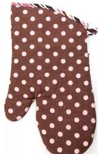 Flirty Aprons Chocolate Pink Oven Mitt Potholder NEW In Packaging