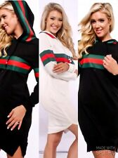 Cotton Cute and Comfortable Hooded Shirt Dress