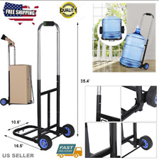 Portable Cart Folding Dolly Push Truck Hand Collapsibles Trolley Luggage 190 lbs