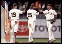 2020 Topps Series 2 Base Vintage #405 San Francisco Giants /99