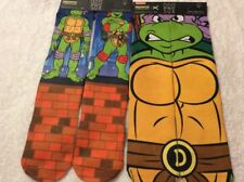 TMNT - ODD Sox Unisex Crew Socks-Retro Tartarughe Regno Unito per adulti: 6-12