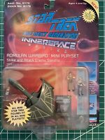 Star Trek The Next Generation Innerspace Series Romulan Warbird Mini Playset NIP