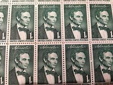 1959 LINCOLN sesquicentennial issue #1113-1116  -MNH- Sheet of 50 Stamps