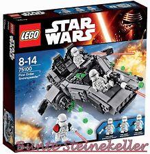 Lego ® Star Wars ™: 75100 first order snowspeeder ™ & 0. € de envío & OVP & nuevo!