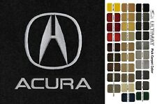 Lloyd Mats Acura Double Logo Ultimat Custom Front Floor Mats (1996-2020 Suv) (Fits: Acura)