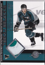 01-02 McDonalds Teemu Selanne /242 Game PATCH Sharks 2001