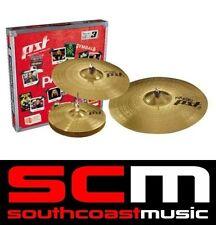 "Paiste PST3 Universal Cymbal Set 14"" Hi Hats 16"" Crash 20"" Ride Cymbals"