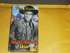 Under Nevada Skies (VHS) Roy Rogers Western Action, New, Sealed, RARE