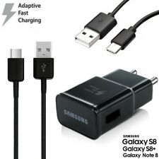 Samsung EP-TA20 Adaptateur Chargeur rapide + Type-C Câble Galaxy S8+ (SM-G955F)